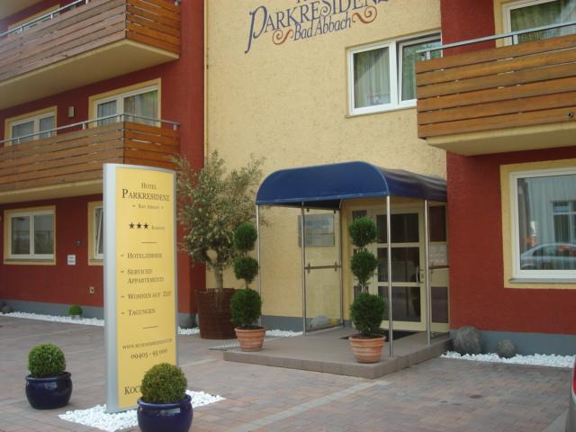 Hotel Parkresidenz Bad Abbach bei Regensburg im Donautal in Bayern