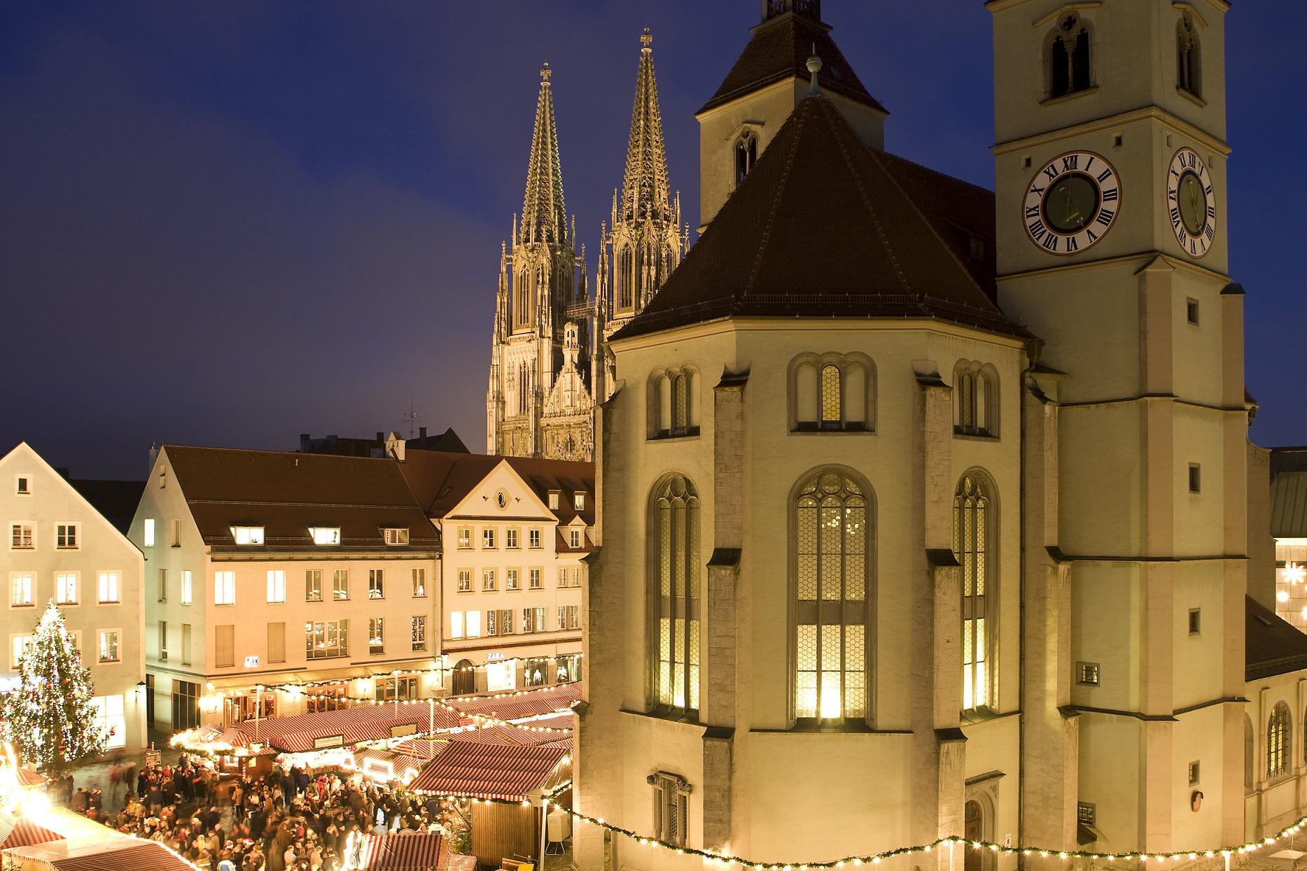 hotel_bad_abbach_ausflugsziel_regensburg_christkindlmarkt_neupfarrplatz